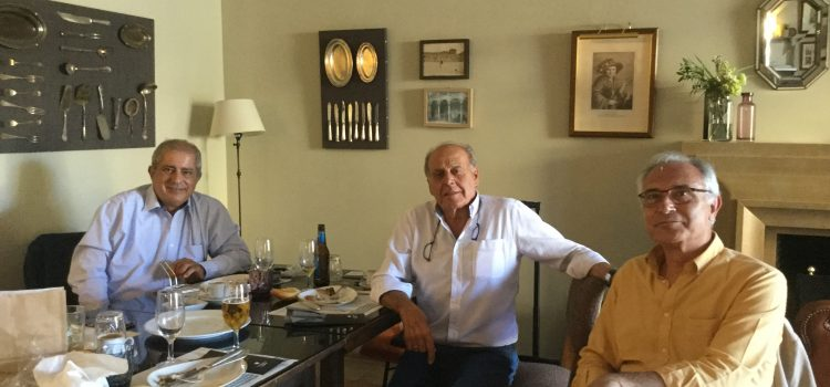 REUNIÓN EN LERMA DE FERNANDO RODRIGUEZ CON JAIME OLIVER Y ANDRÉS MOLINA
