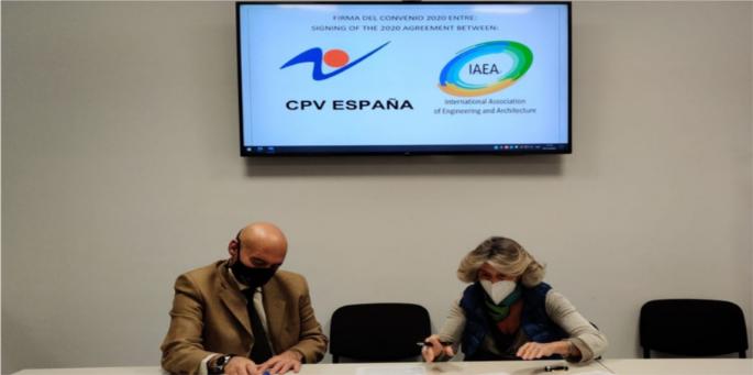 IAEA y la CPV ESPAÑA firman un contrato para la Evaluación de la Competencia de Prevención de Riesgos